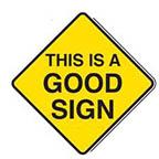 good sign